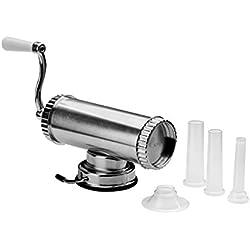 Premier Housewares from Scratch Machine pour Faire Les saucisses Argenté, Aluminium, Silver, 11 x 40 x 16 cm