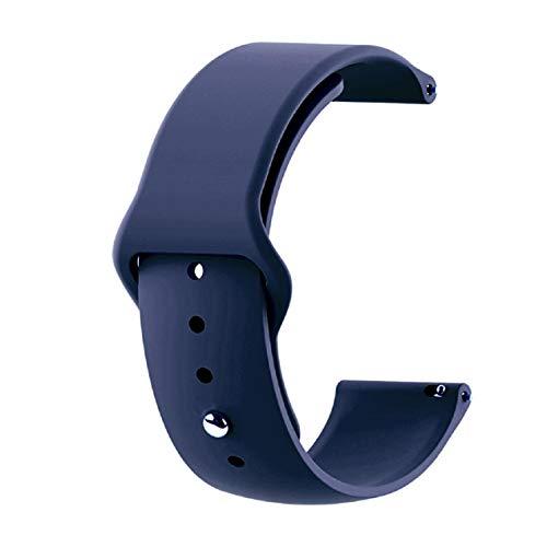 GreatFunEinfarbig Silikonband - 42mm Silikon Sport Ersatzband Armband - Für Damen 'S Herren' S und Jungen 'Sportlicher Sport-Handgelenkriemen für Samsung Galaxy Uhren -