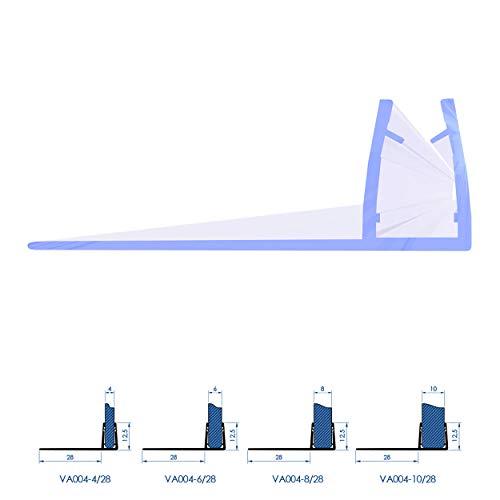 Wasserabweisprofil Glasdicke/Wasserabweisprofil/Duschkabinen Duschdichtung