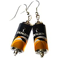 Strongbow Cider Can Earrings