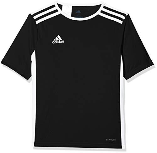 Adidas entrada 18 jersey, maglietta bambino, nero, 13-14 anni