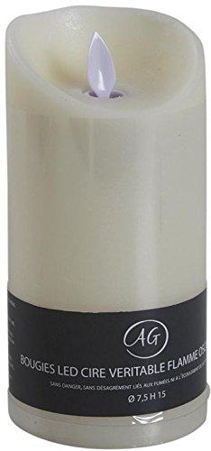 AUBRY GASPARD Bougie à LEDs Parfum Vanille Grand modèle