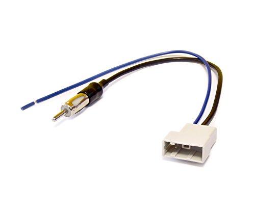 Radio Antenne Adapter Kabel Radio Antenne Adapter GT13 - DIN Stecker für Nissan Tiida, Navara, Pathfinder,Qashqai, X-Trail ab 2007 -