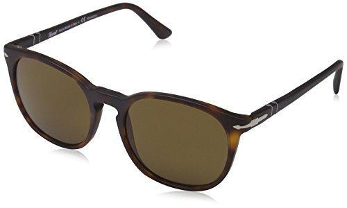 Persol homme 0Po3007S 900157 53 Montures de lunettes, Marron (Matte  Havana Brown Polarized 43895986a965