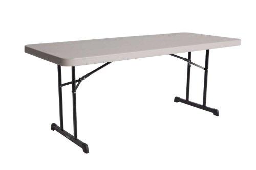 Lifetime Table pliante Blanc Granite 183 x 76 x 73,6 cm 80126