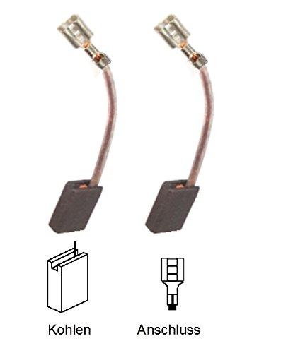 Preisvergleich Produktbild ULFATEC © Kohlebürsten Motorkohlen für AEG PHE 30 RX2, PN 3000 X2, WSL 125 XL - GÜNSTIG