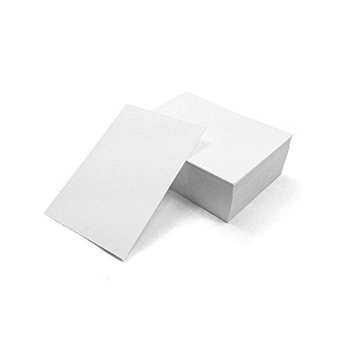 Color: Kraft/brillante color blanco Tamaño de cartón: 9cm * 5.3cm Cantidad: 100piezas de papel Peso: 140g Tamaño de la caja: 95mm * 55mm * 40mm