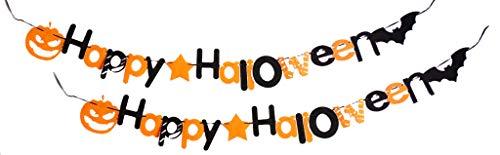 SEY TOYS Nicht Gewebte Halloween-Tür Hängen Und Wand Hängende Dekorationen, Halloween-Familien-Party-Dekorationen, Halloween-Büroparty Ziehen Citi (Zwei Exemplare)