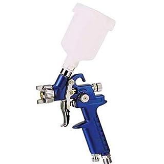 Asturo HVLP Mini Professional Spray Gun, 125cc H-2000Nylon  1.0 mm Nozzle, Excellent