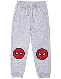 Spiderman Pantalon de jogging Gris 4/5/6/8/10 ans