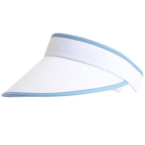 golfino-visiere-de-golf-pour-femme-en-mesh-haut-de-gamme-bleu