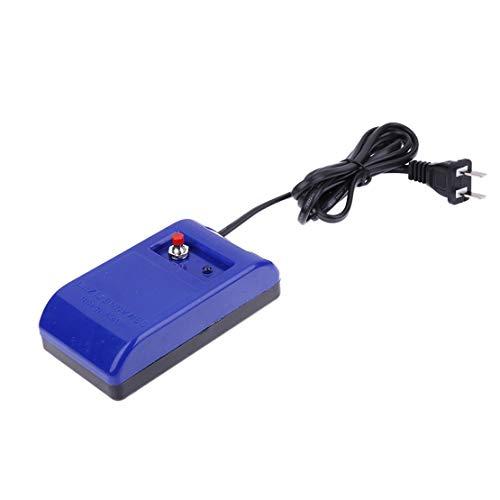 Uhrmacher Schraubenzieher Pinzette Elektrisch Entmagnetisierer Entmagnetisierer Werkzeuge für Uhrmacher Uhr Reparieren Werkzeuge - Blau