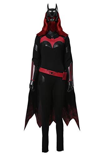 MingoTor Sperheldin Batwoman Kate Kane Cosplay Kostüm Damen S