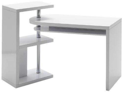 Robas lund scrivania funzionale, mattis, bianco, 50 x 145 x 94 cm, 40126cw2