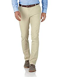 b9287096 Stone Extra Slim Fit Stretch Cotton Chino Trousers by Charles Tyrwhitt