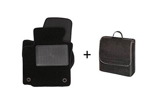 Kofferraumtasche Car Bag M und Velours Autoteppiche Textil Fußmatten VMSE020TASCHM