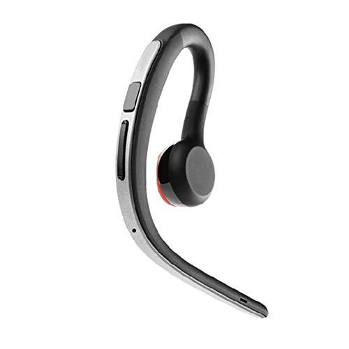 J.W. Bluetooth-Kopfhörer, drahtlose Sport-Business-Sprachsteuerung Bass HD Stereo Sweatproof wasserdicht Noise Cancelling Headsets mit Mikrofon (Silber, Gold) (Kopfhörer Usb Workout-w)