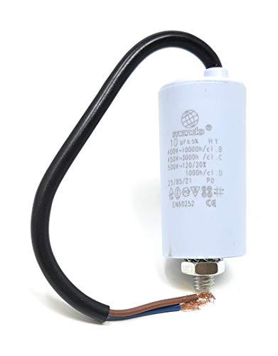 do Motorkondensator mit Kabel 450 V, weiß ()