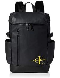 Calvin Klein Ckj Coated Cotton Zip Arou Bp45, Sacs à dos homme, Noir (Black), 1x1x1 cm (W x H L)