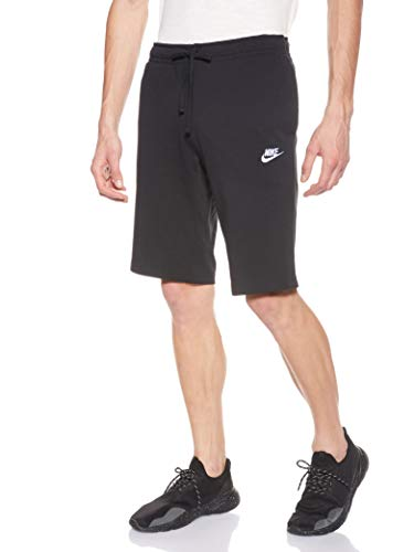 NIKE Herren Nsw Jsy Club Trainingsshorts - Mehrfarbig (Black/White) , M