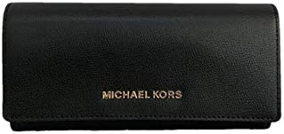 Michael Kors Jet Set Travel Large Carryall Leather Wallet - Pearl Grey