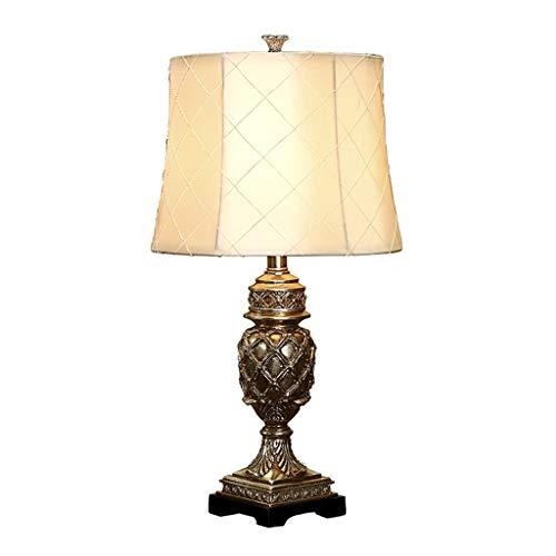 Lampe de table Salon Décor Etude Bureau Lampe Lampe Style Européen Moderne Conception Tissu Ombre Chambre Décoration