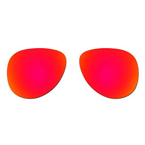 HKUCO Verstärken Ersatz-Brillengläser für Oakley Elmont (Medium) Sonnenbrille Rot Polarisiert