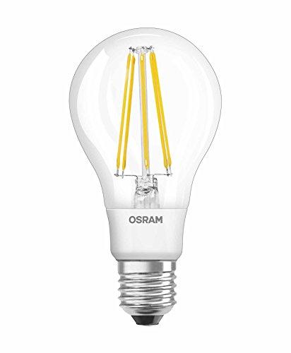OSRAM LED Retrofit Classic A / LED-Lampe in Kolbenform mit E27-Sockel / Nicht Dimmbar / Ersetzt 95 Watt / Filamentstil Klar / Warmweiß - 2700 Kelvin / 1er-Pack