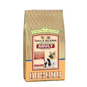 James Wellbeloved Turkey & Rice Kibble Naturally Hypo Allergenic 15kg by James Wellbeloved