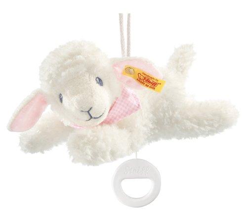 Steiff 239649 - Träum Süß Lamm Spieluhr, 25 cm, rosa