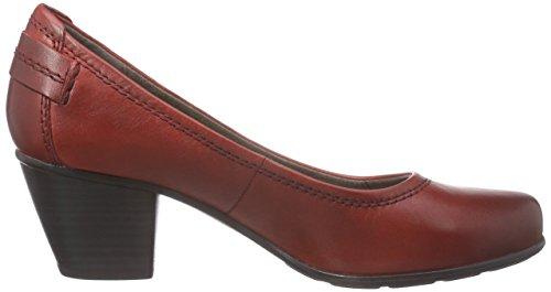 Jana 22404, Scarpe con Tacco Donna Rosso (Rot (CHILI 533))