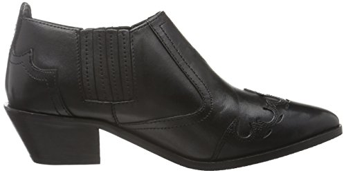 Pepe Jeans London Damen Dina Anckle Slipper Schwarz (Black 999)