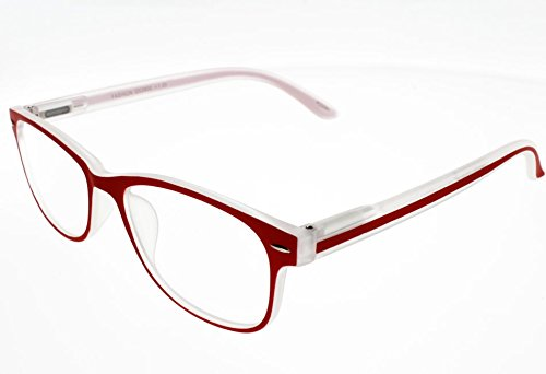 I NEED YOU Lesebrille Fashion SPH:+2,00 Farbe:Rot