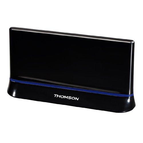 Thomson ANT1403 Zimmerantenne (für TV/Radio, HDTV/3D, LTE, DVB-T/DVB-T2, aktiv, mit Signalverstärkung)
