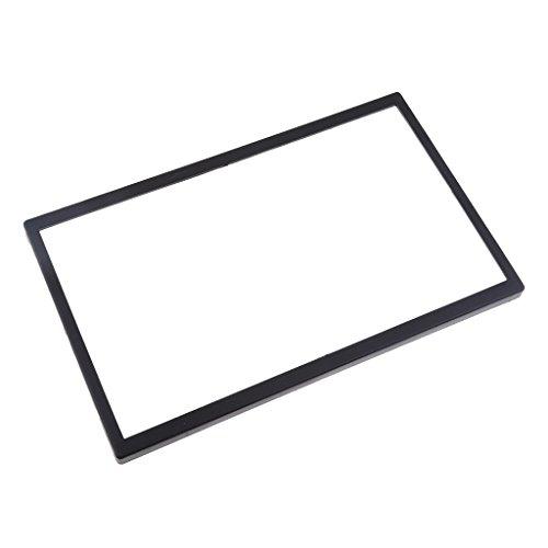 Homyl Abstandshalter Rahmen aus Kunststoff für Skoda Fabia / Octavia / SuperB, Einfache Montage - Schwarz -