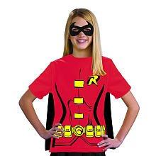 Tshirt Kostüme Damen Robin (Rubies Kostüm Co. Inc Damen Kind Robin T-Shirt Fancy Kleid Kostüm Gr. S,)