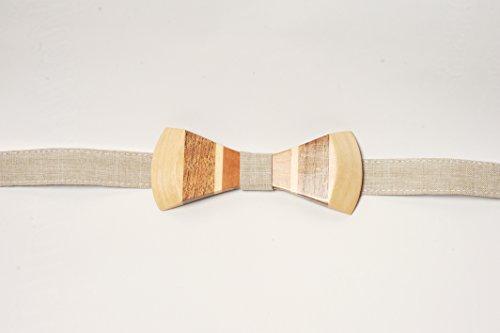 faite-a-la-main-en-bois-noeud-papillon-ecrou-en-forme-de-poire-sycamore-arbre-tissu-en-dentelle-pour