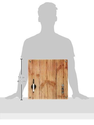 Zeller 11651 - Lavagnetta memo in vetro effetto