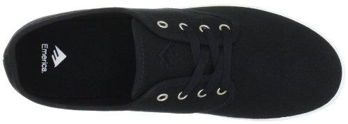 Emerica WINO 6101000088, Scarpe da skateboard uomo Nero (Schwarz (Black/Silver))