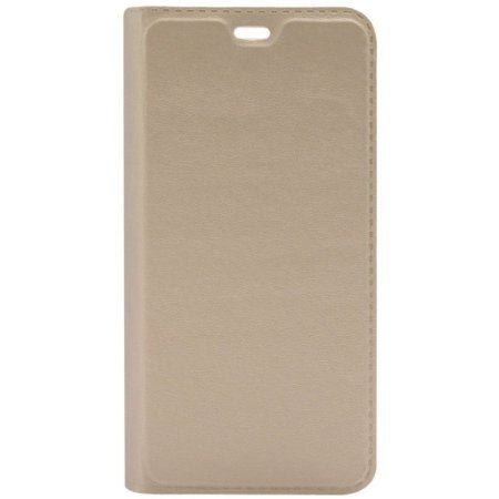 Sun Tiger (COMBO OFFER) Full Leather For samsung on5 pro (GOLD)