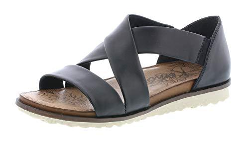 Remonte R2755 Donna Sandali con Cinturini,con Il Cinturino,Scarpe estive,Sandali di Estate,Confortevole,Piatta,schwarz/01,39 EU / 6 UK