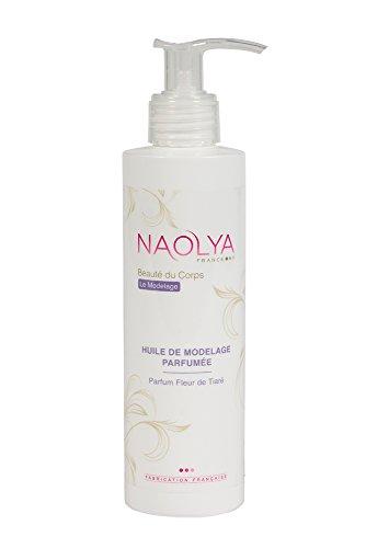 """Huile massage professionnelle parfumée Monoï """"Fleur de Tiaré"""" - Modelage corps visage"""