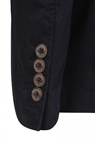 Hommes Kensington Andris Veste De Costume Neuf Créateur 2 Boutons Coton Blazer Décontracté Bleu Marine
