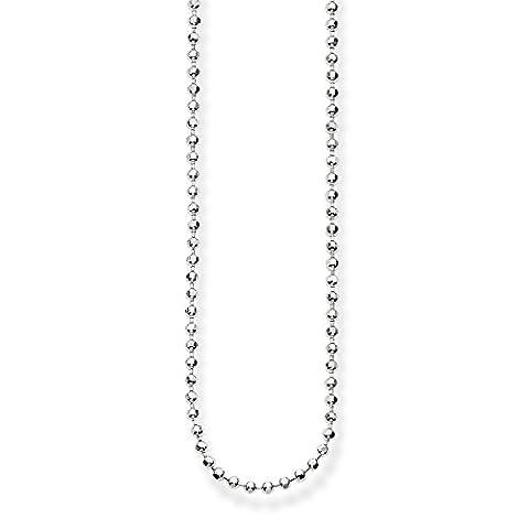 Thomas Sabo Femmes-Chaîne Glam & Soul Argent Sterling 925 Longeur de 45 à 50 cm KE1347-001-12-L50v