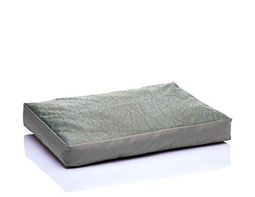 BONO Kunstleder Komfortmatratze Hundematte XL 75×120 Wild Creme-Beige Nr.07 - 5