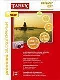 50 Fogli Premium Carta fotografica da TANEX 200g/m² DIN A4 Lucido