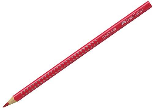 Faber-Castell 112426 - Buntstift 2001, FSC 100%, Colour Grip, permanentkarmin