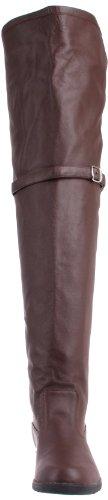 Pleaser, Stivali uomo Marrone (Brown Leather)