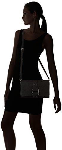 LPB Woman W16b0503, Borsa a tracolla donna Nero