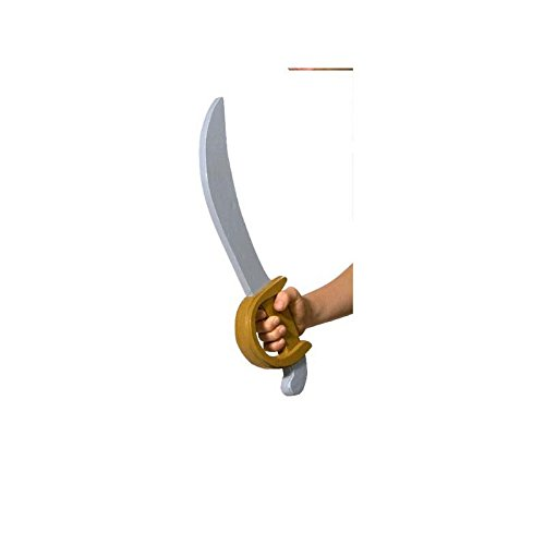 César A0702898 - Espada para disfraz de pirata, 48 cm